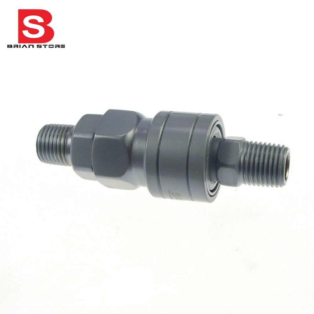 1/4 Male Air Compressor Quick Coupler Connector Alloy Steel Self Lock SM-20 PM-20 Corrosion resistant 13mm male thread pressure relief valve for air compressor