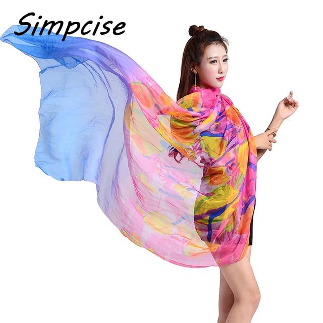 Simpcise Sarongs Womens Fashion New Design Hibiscus Flower Swimsuit