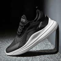 2018 ฤดูร้อนน้ำหนักเบากีฬากลางแจ้งรองเท้าผู้ชายไนลอนรองเท้าผ้าใบวิ่งจ๊อกกิ้งเทนนิส man Race รองเท้าวิ่ง lace up รองเท้าผู้ชาย