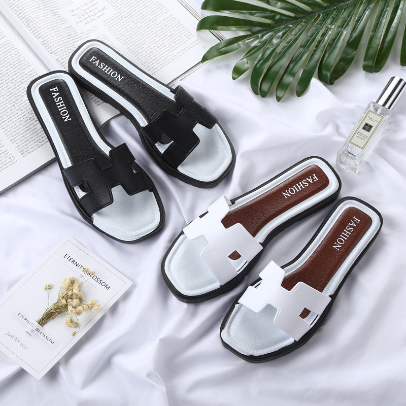 New Summer Slipper Women Slippers Slides Women Sandals Slippers Word Hollow out Women Single Sandals Non-slip Fashion Slides 2015 new big size sexy high heel slipper women fashion woman slippers summer platform slides brand soft pu slip on lady slippers page 1