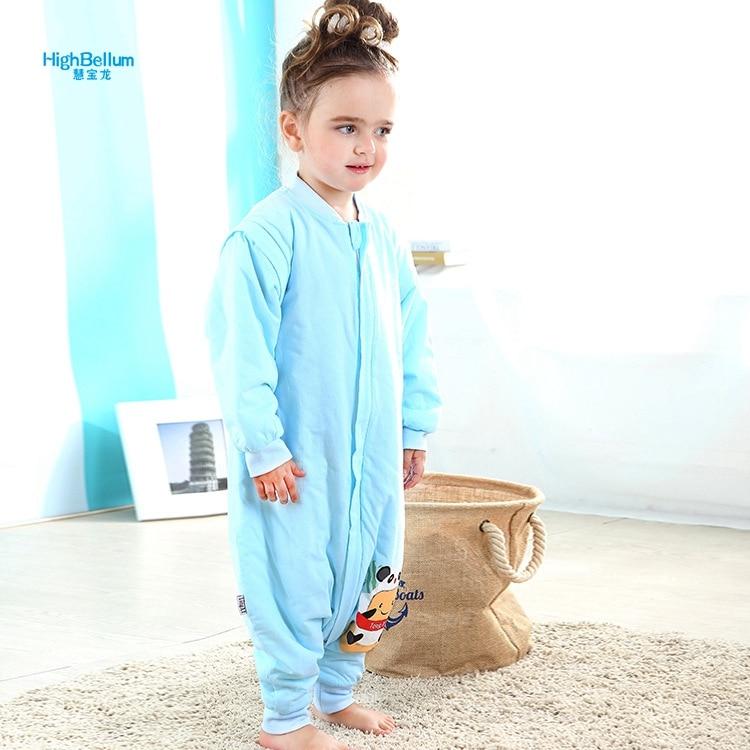 Baby Boy Girl slaapzak Romper 2 jaar puur katoen Afneembare mouw - Beddegoed - Foto 1