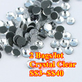 Ss6, ss8, ss10, ss12, ss16, ss20, ss30, ss34, ss40 Crystal Clear DMC hierro en cristal Rhinestones / Rhinestones calientes cristalinos del arreglo