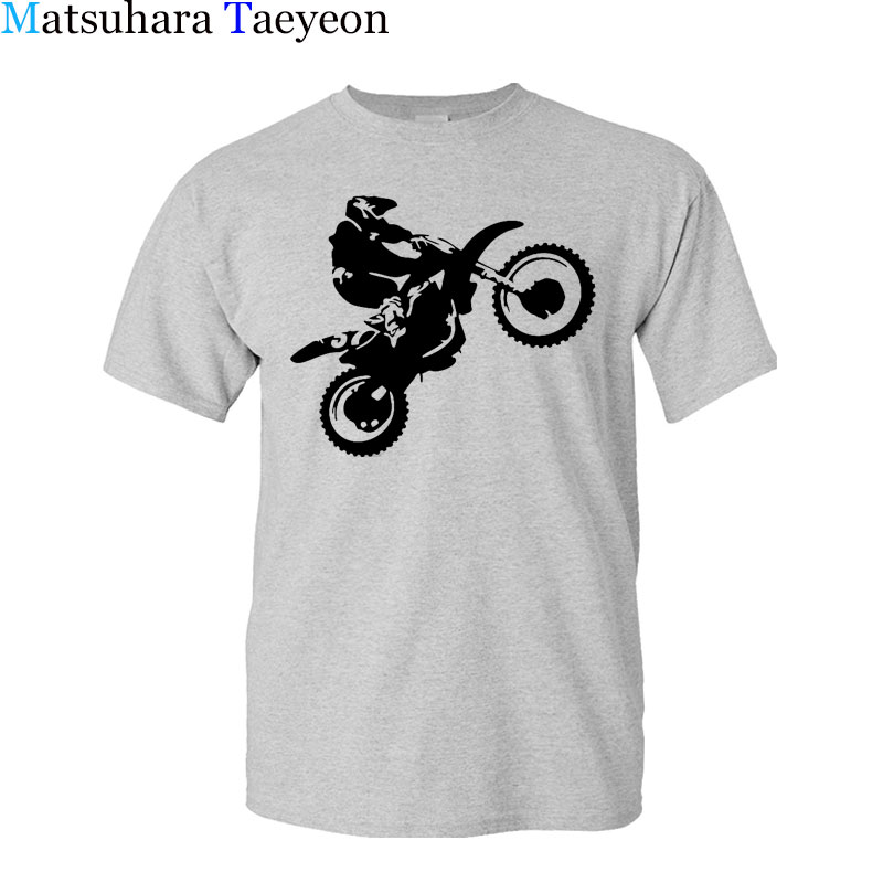 Matsuhara Taeyeon Brand 2017 T - Shirt Men's Sleeve Casual Fashion Short Sleeved O-neck Cross Country Motorcycle Printed XS-3XL