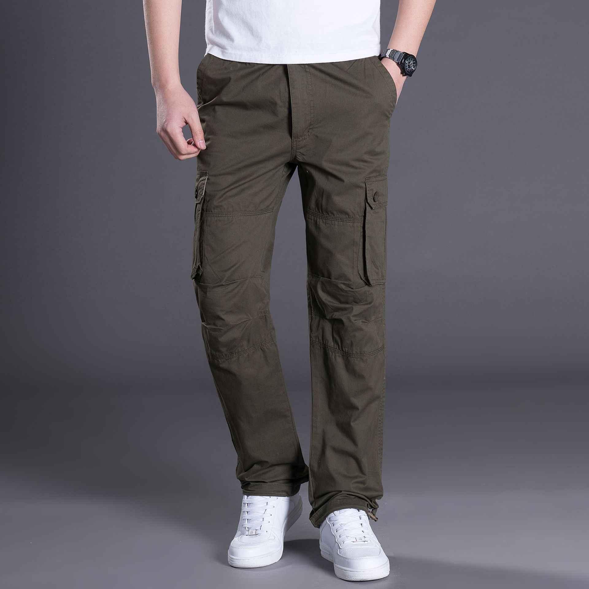 4caa9c7185066 ... Мужские штаны-карго мужской тактический брюки для девочек Военная  Униформа армии стиль повседневное Jogger Camo ...