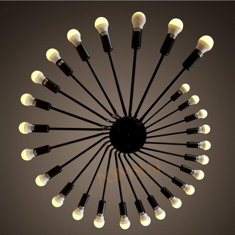 aliexpress koop loft vintage hanglampen retro industrià le