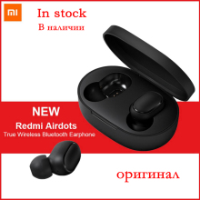 Original Xiaomi Mi Redmi AirDots True Wireless Earphone TWS Bluetooth Stereo Sport Earphones With Mic Handsfree Earbuds Headset original remax s8 wireless bluetooth earphone for iphone 7 xiaomi mi 5 wireless earpod sport stereo earbuds with mic auriculares
