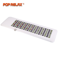 POP RELAX Korea Technology Health Mattress Magnet FIR Red LED Photon Light Therapy Jade Tourmaline Heating Massage Mat Mattress