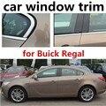 Хит продаж  оконная рама из нержавеющей стали для автомобиля  декоративная накладка на подоконник для нового Buick Regal