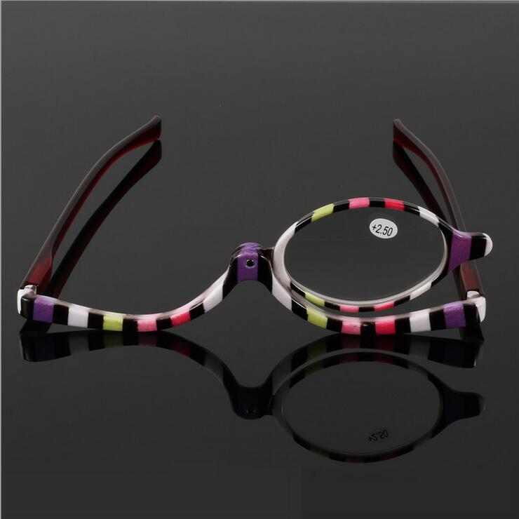 fd8d4affb9d Detail Feedback Questions about Readers Magnifying Makeup Glasses Eye Make Up  Spectacles Flip Down Lens Folding Cosmetic Womens Reading Glasses on ...