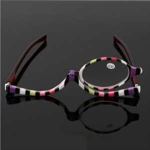 67d9759da67 Magnifying Makeup Eye Lens Folding Womens Reading Glasses