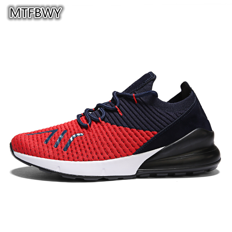 Men Running Sneakers new design mesh Breathable lace-up Men Sports Shoes outdoor trainers size 39-44 183s