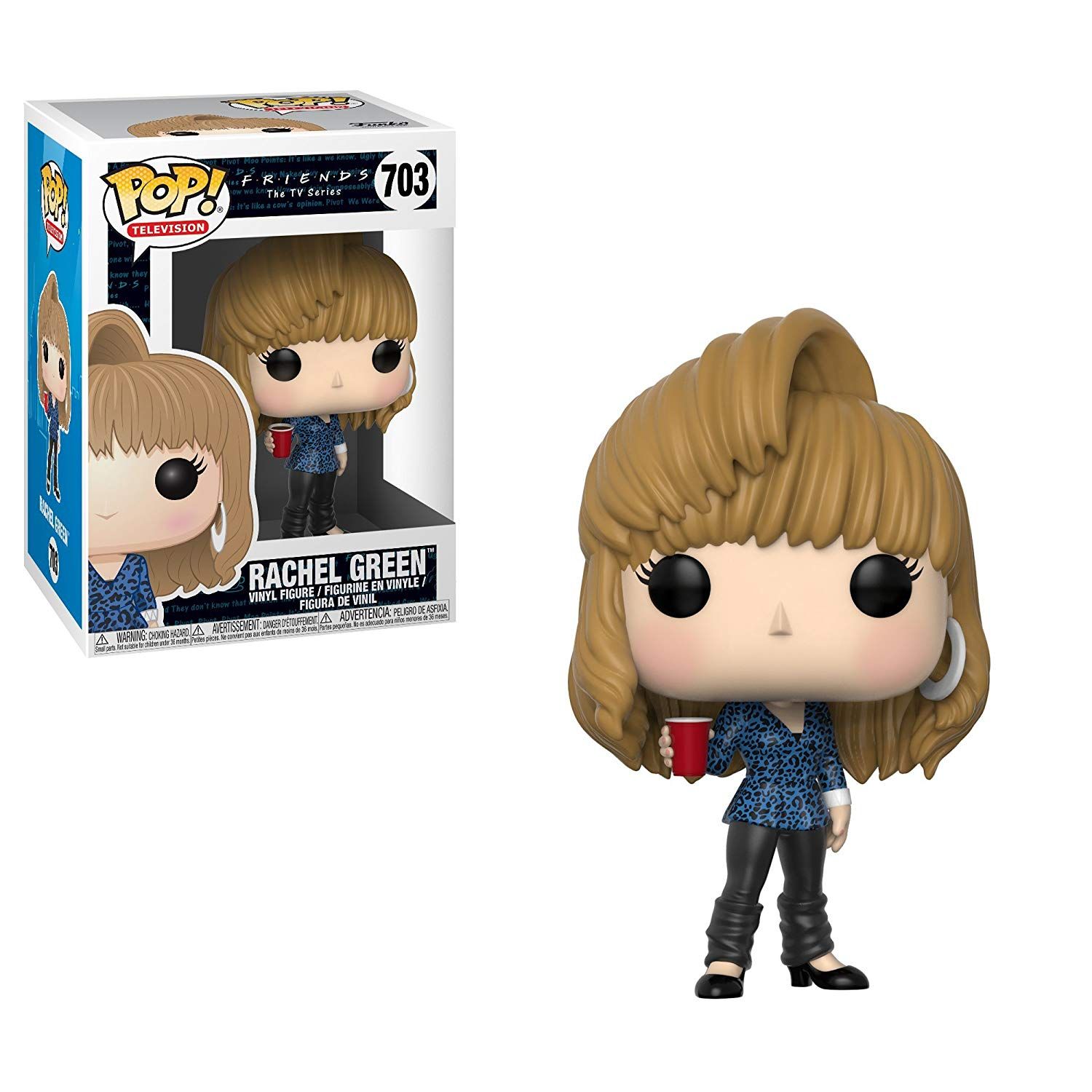 Official Funko pop Television: Friends - 80s Hair Rachel Green Vinyl Action Figure Collectible Model Toy with Original BoxOfficial Funko pop Television: Friends - 80s Hair Rachel Green Vinyl Action Figure Collectible Model Toy with Original Box