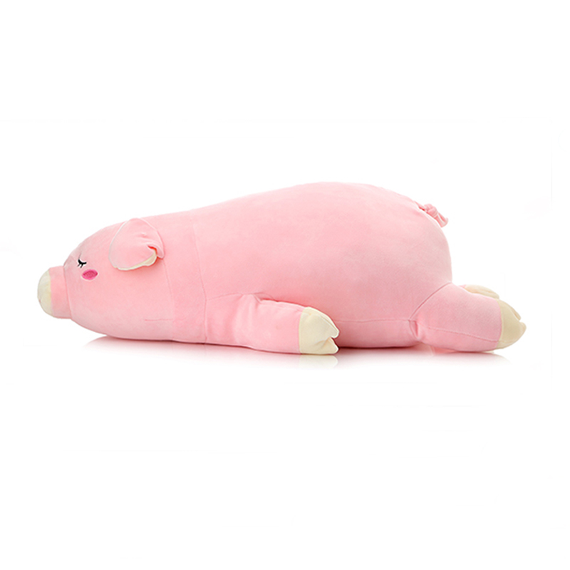 Plush Sleepy Piggy Toys  Pillow Super Soft Stuffed Pig Dolls Best Gifts for Kids Friends Baby 18 30cm fat pet cats persian cat toys pembroke pillow plush toys soft stuffed animal plush dolls simulation peluches gifts kids