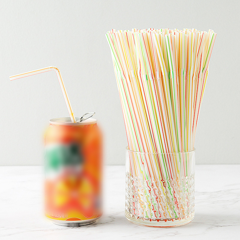100 Pcs High Quality Drinking Straws Set Extra Long Flexible Straws For Beverage Shop Restaurant Hotel Bar Party Drinking Tools