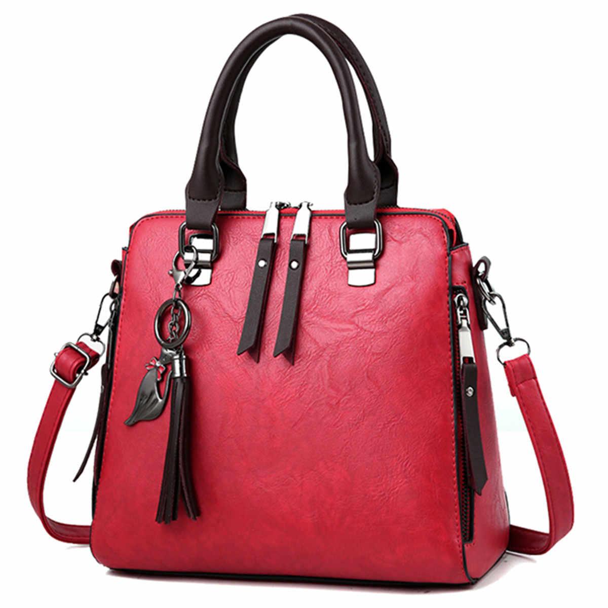 Aequeen Ombro Moda Crossbody Bag de Alta Qualidade PU Bolsa de couro Das Mulheres Designer De Marca 2019 Bolsa Feminina Com Pingente de Gato
