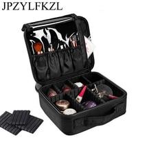 Makeup Artist Travel Accessories Professional Beauty Cosmetic Case  Bag Semi-permanent Tattoo Nails Multi-Lay Organizer