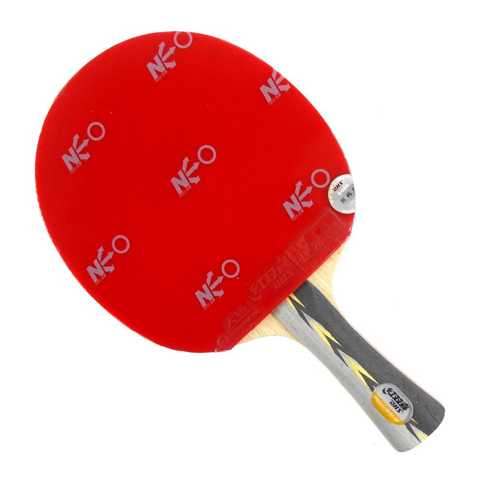 Pro Table Combo Paddle Racket DHS POWER.G7 PG7 PG.7 PG 7 + NEO Skyline TG2 and NEO Skyline TG3 Long Shakehand FL