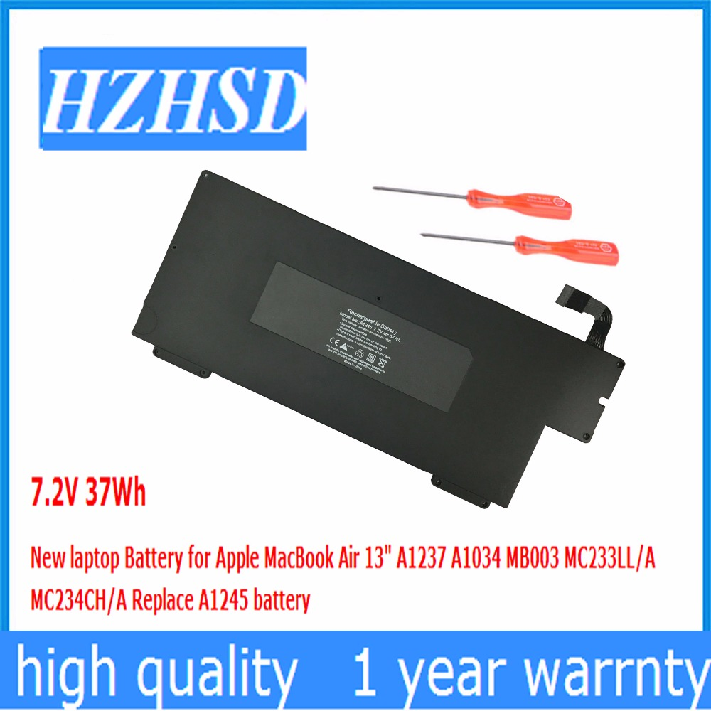 цена 37Wh 7.2V New Original laptop Battery for Apple A1237 A1245 MacBook Air 13