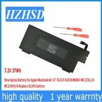 37Wh 7.2V New Original laptop Battery for Apple A1237 A1245 MacBook Air 13 A1304 MB003 MC233 MC234 Z0FS