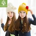 2017 Top Moda Unisex Informal de Algodón Sombrero de Invierno Corea Del Sur Kk árbol Nuevo Sombrero de Los Niños de Primavera Sección Set Casquillo de la Cabeza Del Niño Capó