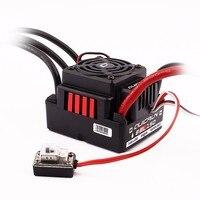 Original Hobbywing Quicrun 8BL150 Brushless Waterproof Sensorless 150A ESC with LED Program Box Rock Crawler ESC For 1/8 Rc Car