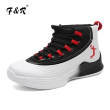 F&R 2018 New Men's Basketball Shoes Jordan Shoes Outdoor Ultra Fly and Wear-resistant Basketball Sports Shoes Size 39-45