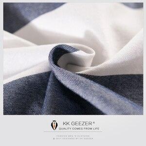 Image 4 - Men Striped Tuxedo Shirt Men Dress Shirt Long Sleeve Casual Slim Fit Formal Business Designer High Quality Big Fashion Plus 4XL