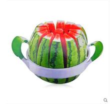 Kitchen Tableware Tools Gadgets Stainless steel watermelon knife Fruit divider slicer free shipping