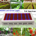 Full Spectrum 600W LED Grow Light Red+Blue+UV+IR AC85~265V Indoor Hydroponic Grow Light Superior Yield Higher Quality Flowers