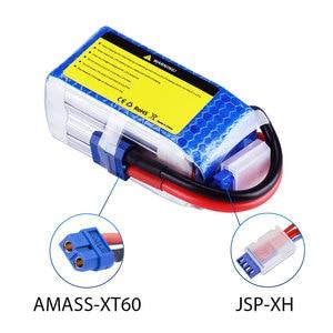 Image 4 - SEASKY 4S bateria lipo 14.8V 1500mAh 75C RC akumulator lipo bateria 14.8V XT60 bateria lipo dla dron fpv