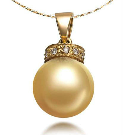 Online shop wedding jewelry gvbori 18k gold southsea gold pearl wedding jewelry gvbori 18k gold southsea gold pearl necklace pendant crownwith diamond pearl pendant for women gold pearl mozeypictures Choice Image