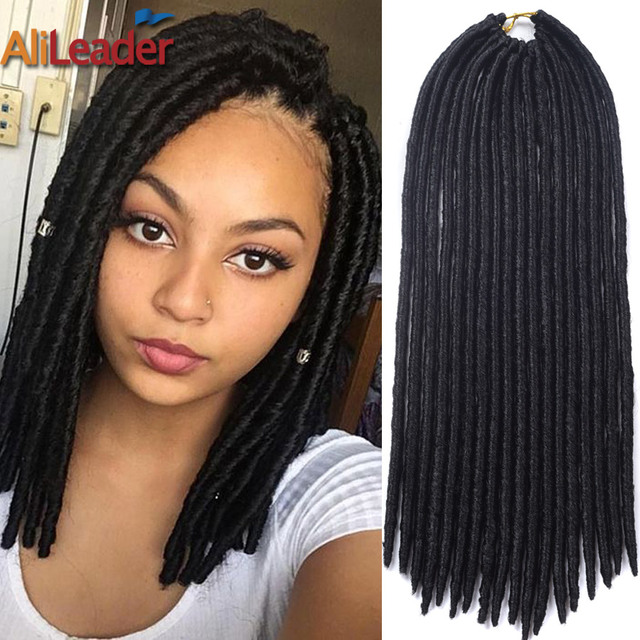 Dess Faux Locs Hair Crochet Braids Styles 12 Inch Senegalese Twist Braid 18s Pack