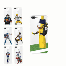 American Sport rugby football Odell Cornelious Beckham Jr cartoon soft silicone phone cases cover for huawei Honor 8 9 10 lite
