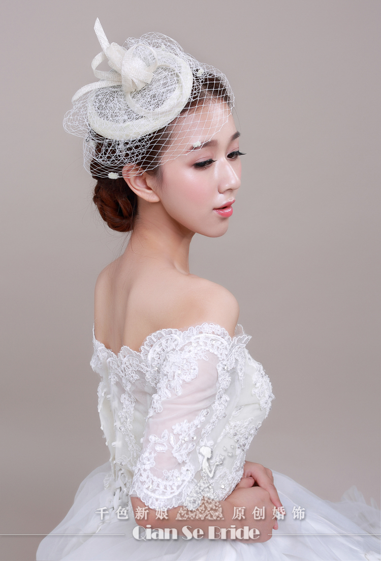 romantic wedding accessories bridal hats stunning crystal