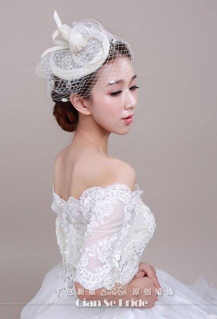 Romantic Wedding Accessories Bridal Hats Stunning Crystal Sparkling Bridal Hair Accessories Fashion Style cappello sposa WH04