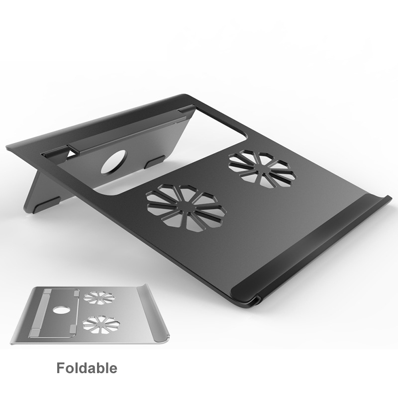 Portable Metal Laptop Stand Holder For Macbook Air Pro 11 12 13 15 Lenovo Aluminum Alloy Foldable Notebook Cooling Bracket