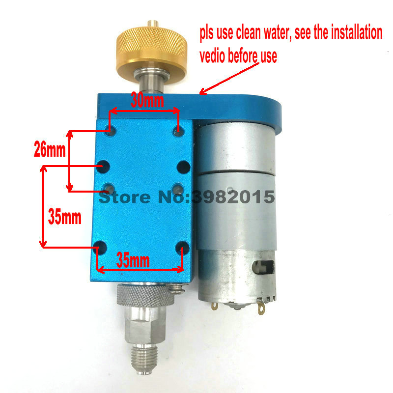 Drilling Machine Parts Tungsten Steel Rotated Head with Motor for Drilling Machine