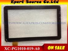 Envío libre 10.1 pulgadas de Pantalla Táctil Panel táctil Digitalizador Cristal Del Reemplazo XC-PG1010-019-A0 XLY