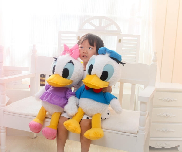 ФОТО 2016 free shipping hot donald duck, daisy duck cotton plush toys stuffed & plush animals