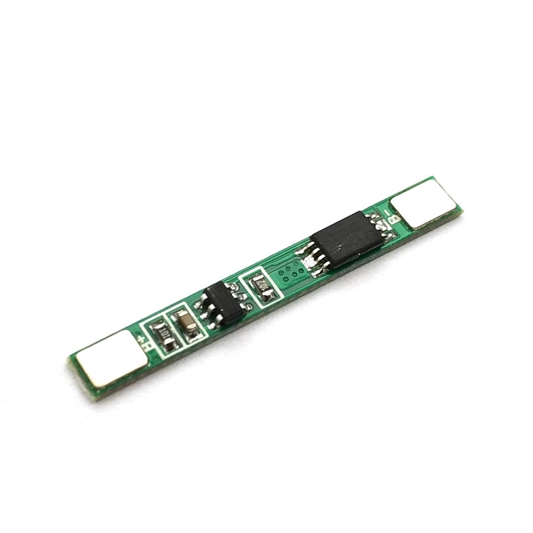 5 Pcs 1S 3.7V 3A Li-ion BMS PCM Battery Protection Board Pcm For 18650 Lithium Ion Li Battery