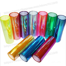 Shiny Chameleon Auto Car Styling headlights Taillights Translucent film lights Turned Change Color Car Film Stickers Decoration