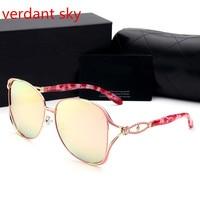 2017 Large Sunglasses Polarized Sunglasses Driving Sun Glasses Classic Women Sunglasses Femininity Free Shippingsky 3