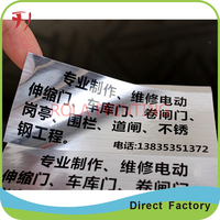 Customized self adhesive medicine vial bottle labels