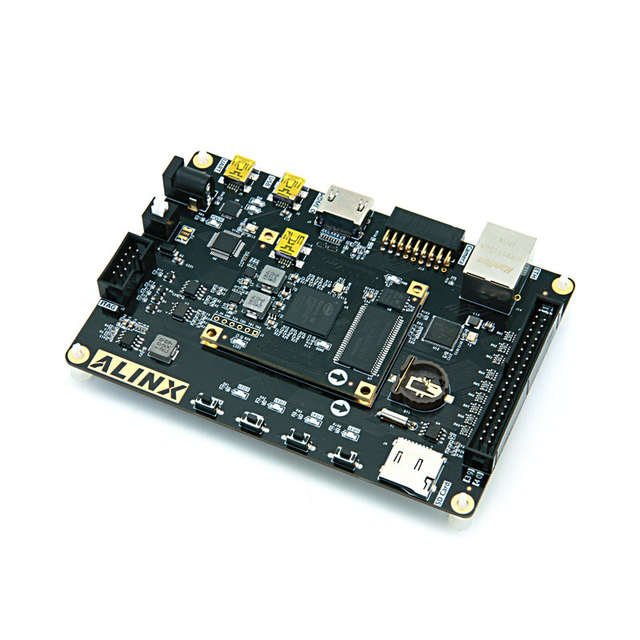 US $120 0 |Alinx ALTERA FPGA Development Board cyclone ax1025 AX1006 AX1016  with video tutorials-in Cable Winder from Consumer Electronics on