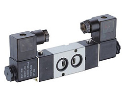 4M220-08 1/4 Port size 4m series solenoid Namur valve ,double operated electromagnetic4M220-08 1/4 Port size 4m series solenoid Namur valve ,double operated electromagnetic