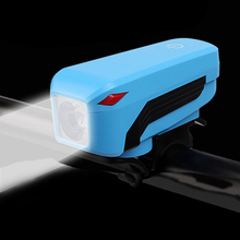 Cycling light waterproof front handbar usb charging bike spotlight power bank bicycle