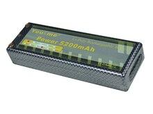You&me Hard Case RC LiPo Battery 7.4V 5200mAh 35C 2S Hard Case for 1/10 RC Car banana connector