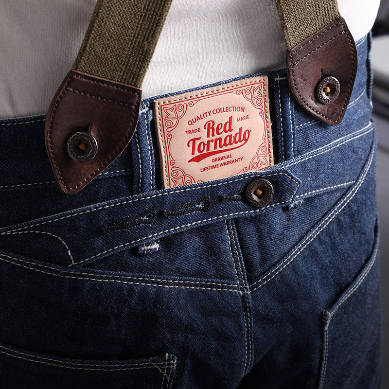 GS-0001 Read Description! 14 OZ Raw Indigo Selvage Denim Pants Sanforised Thick Raw Denim Jean