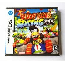 Nintendo nds игры diddy kong гонки видеоигры картридж консоли карты сша английская версия с ручным книги розничной упаковке