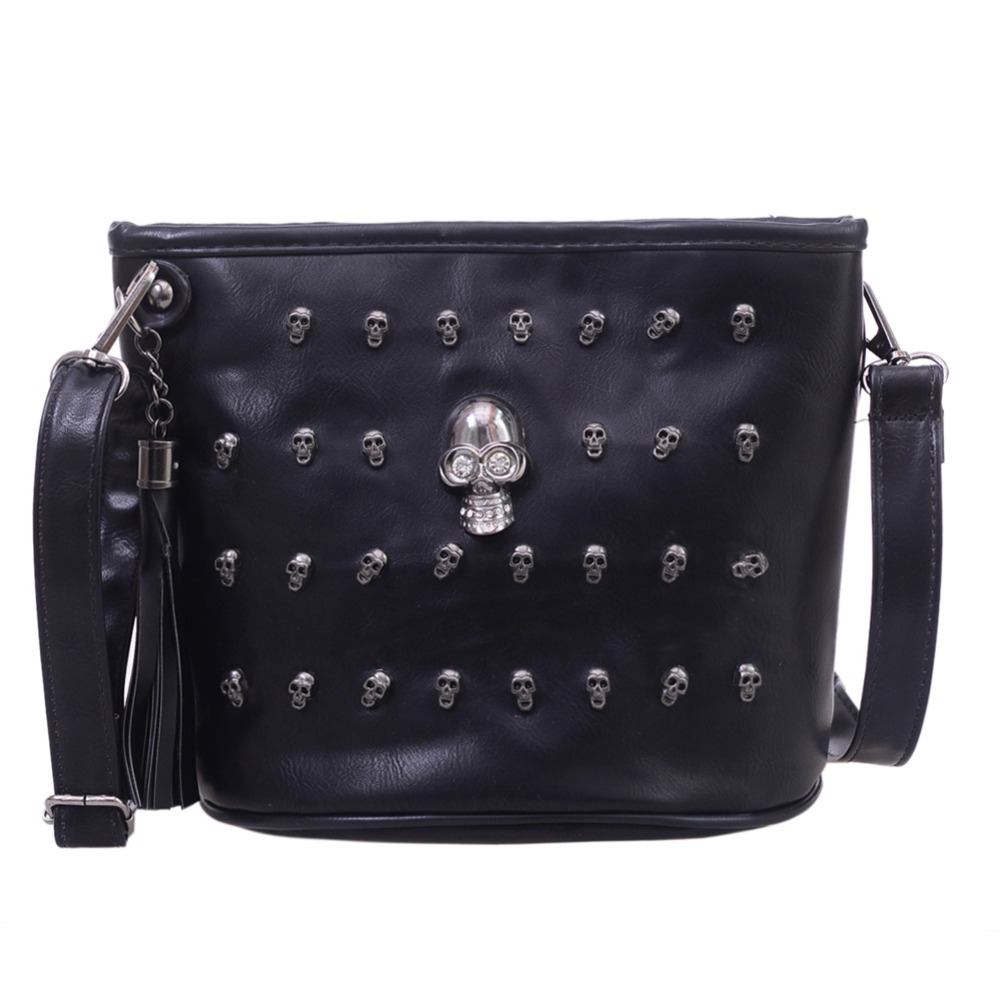 Retro Skull Design Women Messenger Bags Shoulder Bags ...